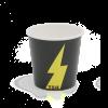 Kartonnen koffiebeker 100ml