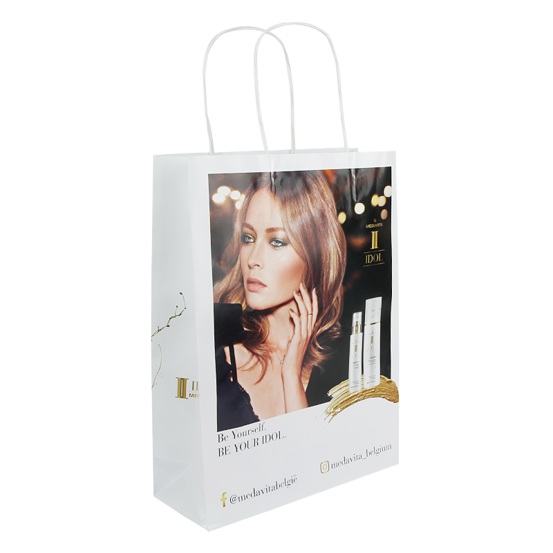 Budget full color papieren tas A4