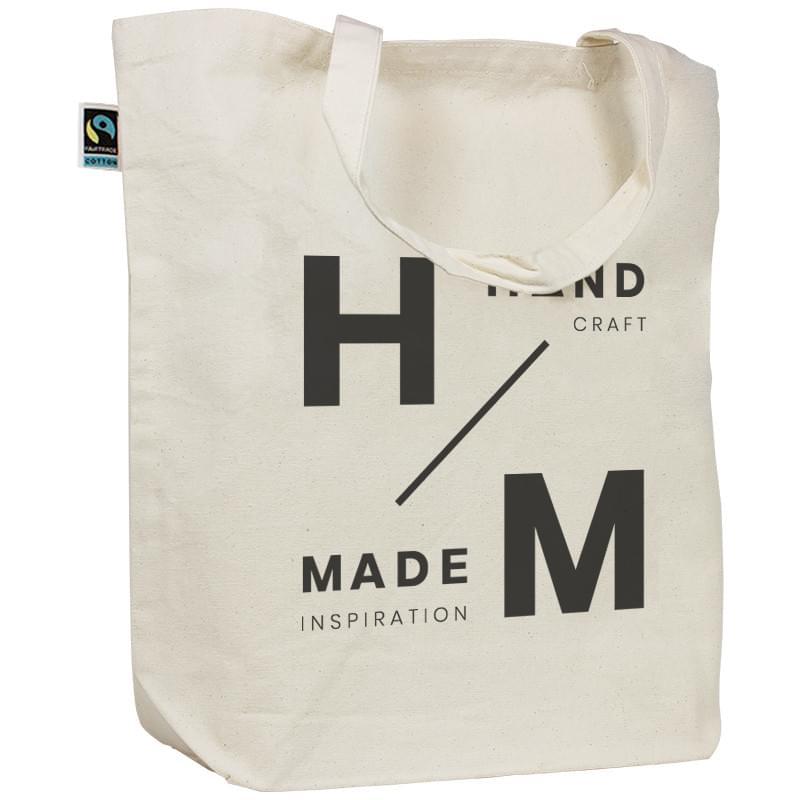 04705c77f70 Fairtrade canvas tas korte hengsels bedrukken? - Voordelig & snel ...