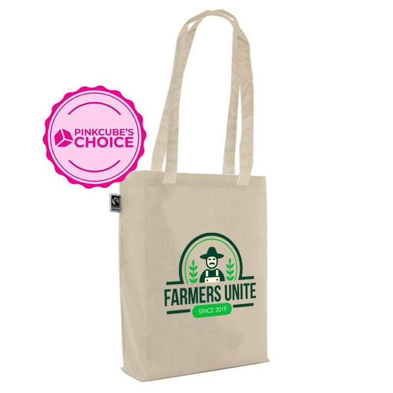 Fairtrade katoenen draagtas