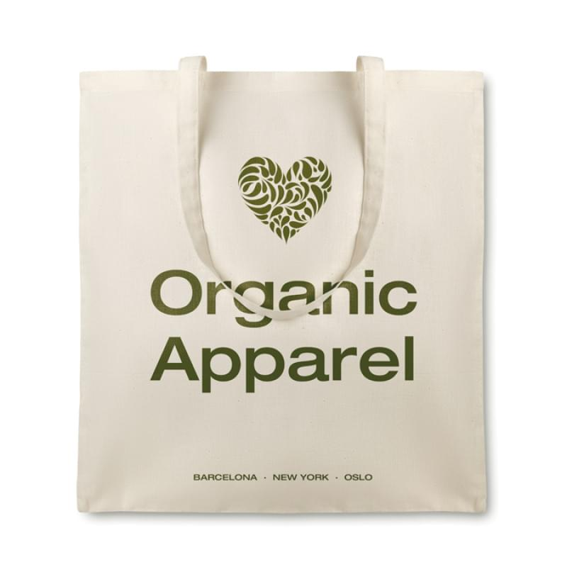 Organic cottonel katoenen boodschappentas