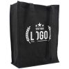Canvas tas staand zwart