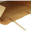 Papieren tas met gedraaid koord A5