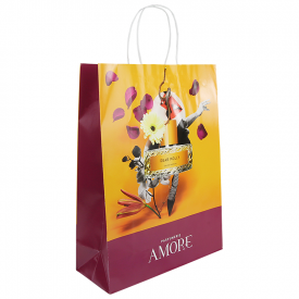 Budget full color papieren tas A3