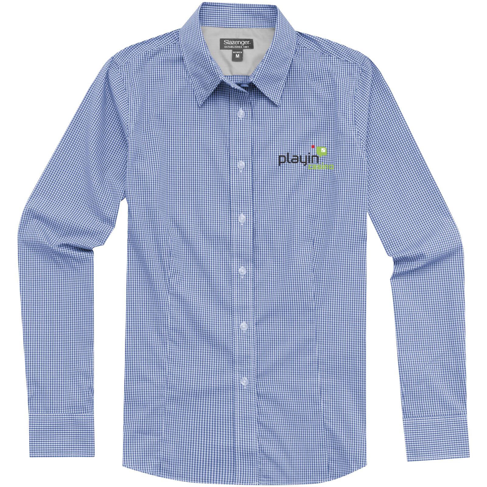 593f0f11ab37c5 Nette dames blouse met lange mouwen bedrukken? - Voordelig & snel ...