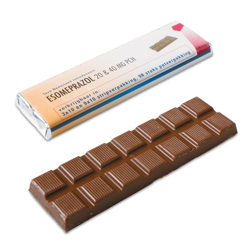 reep chocolade 75 gram bedrukken voordelig amp snel