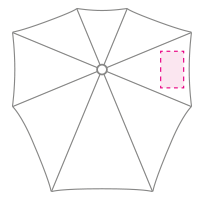 1 segment (rechts)