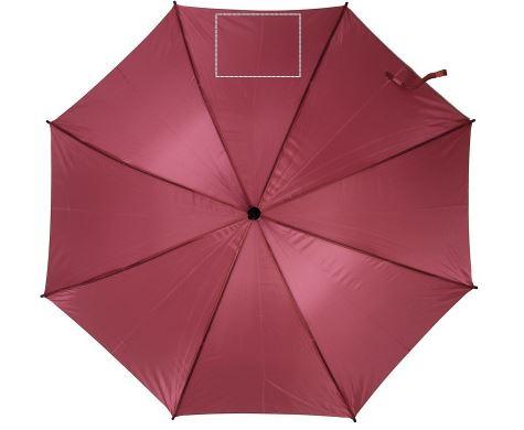 Paraplu met houten handvat - Bedrukking