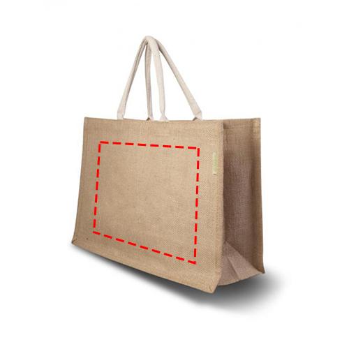 Jute shopper Large - Voorzijde