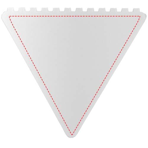 Driehoekige ijskrabber - Full color opdruk