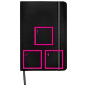 Spectrum A5 notitieboek - Bedrukking in 1 t/m 4 kleuren