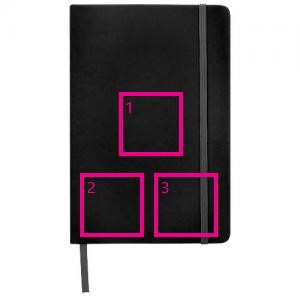 Spectrum A6 notitieboek - Bedrukking in 1 t/m 4 kleuren
