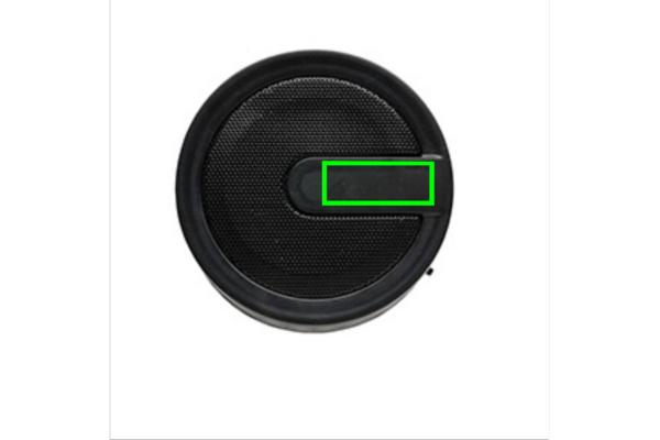 Geometric draadloze speaker - Bedrukking