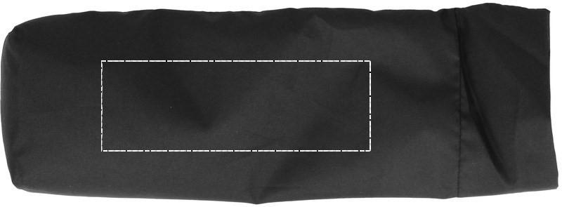 Opvouwbare reversible paraplu - Bedrukking Pouch