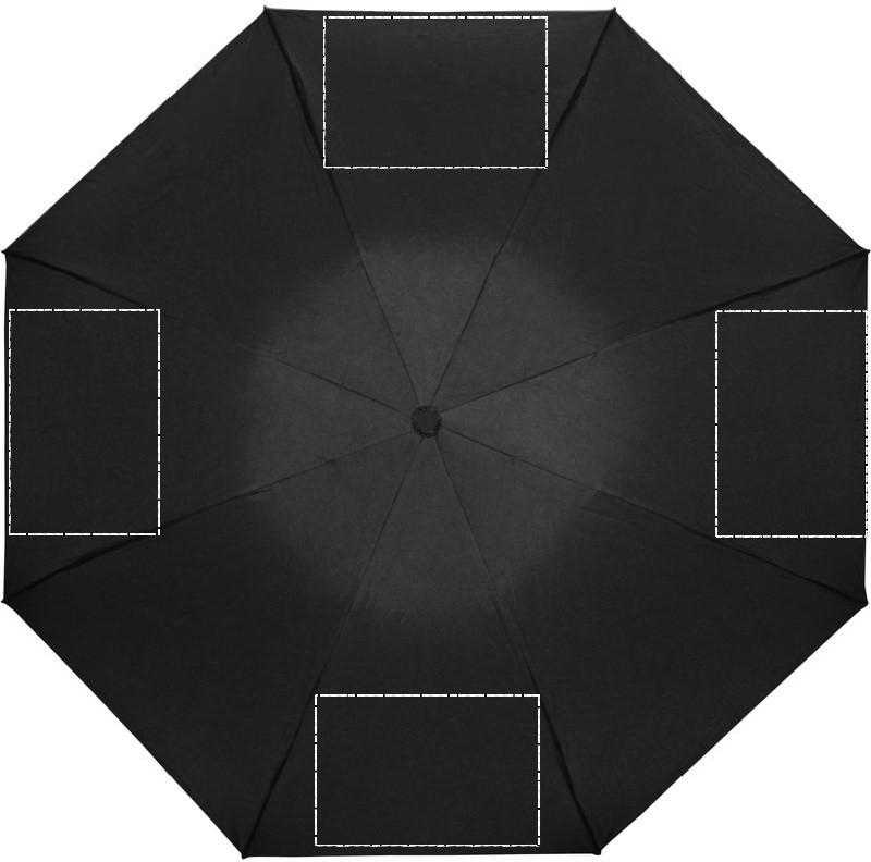 Opvouwbare reversible paraplu - Bedrukking paraplu