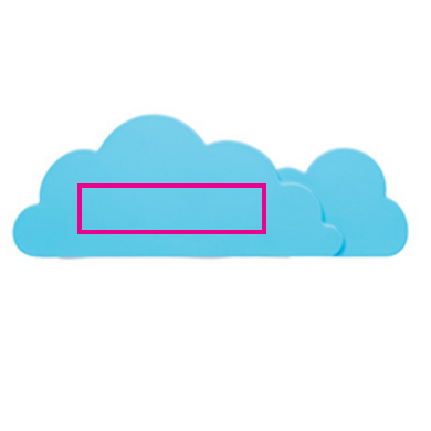 Cloud USB hub - Bedrukking