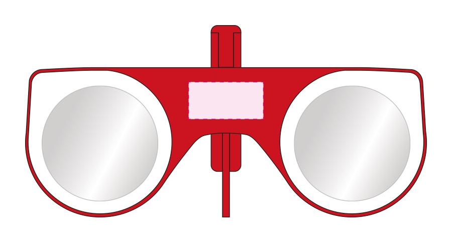 Vouwbare VR-Glasses - Bedrukking