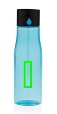 XD Design Aqua Hydration Tracking Tritan fles - Bedrukking