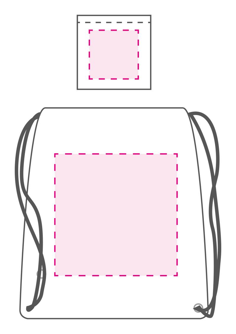 0fbee937480 100% RPET opvouwbaar rugzakje bedrukken? - Voordelig & snel bestellen