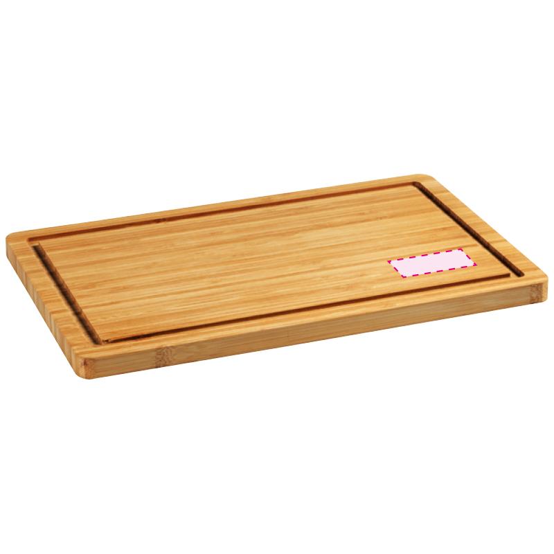 Bamboo Board snijplank - Gravering bovenzijde