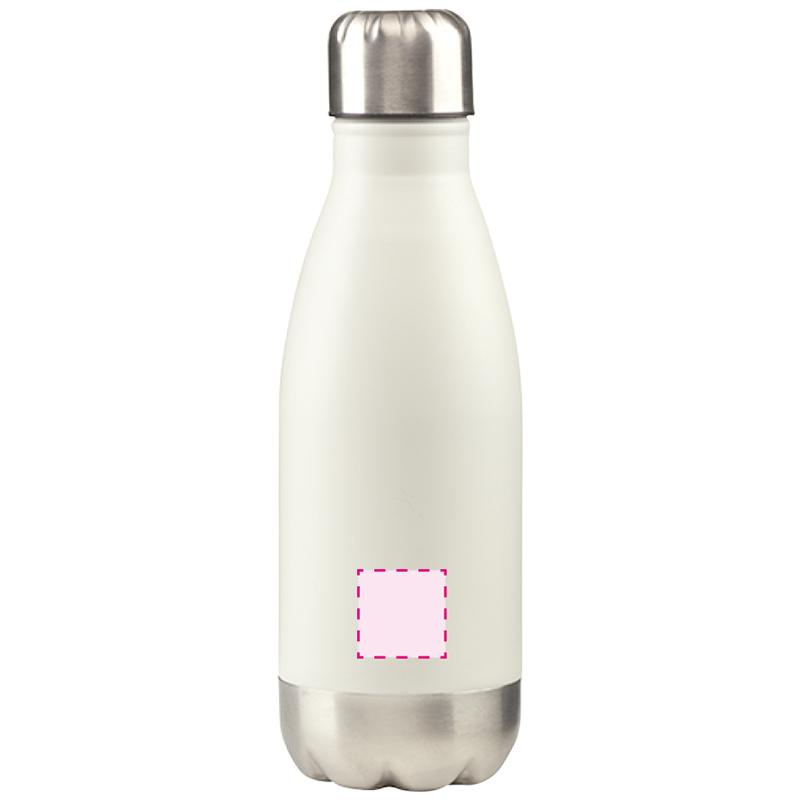 Topflask 350 ml waterfles - Lasergravure voorzijde