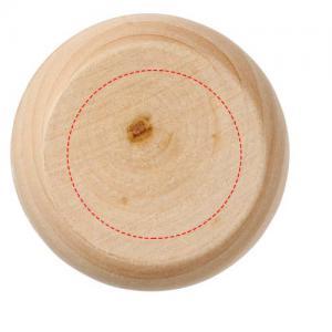 Woody houten jojo - Bedrukking