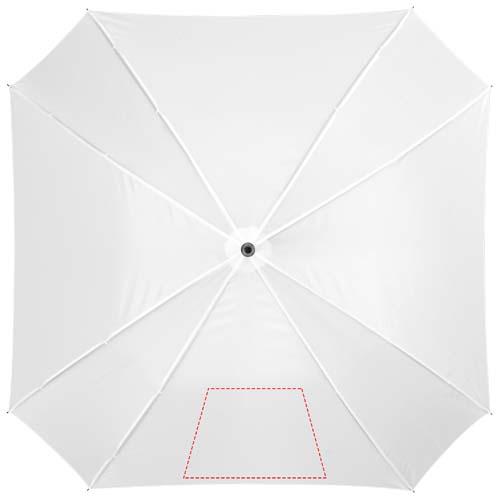 Vierkante automatische paraplu - Bedrukking