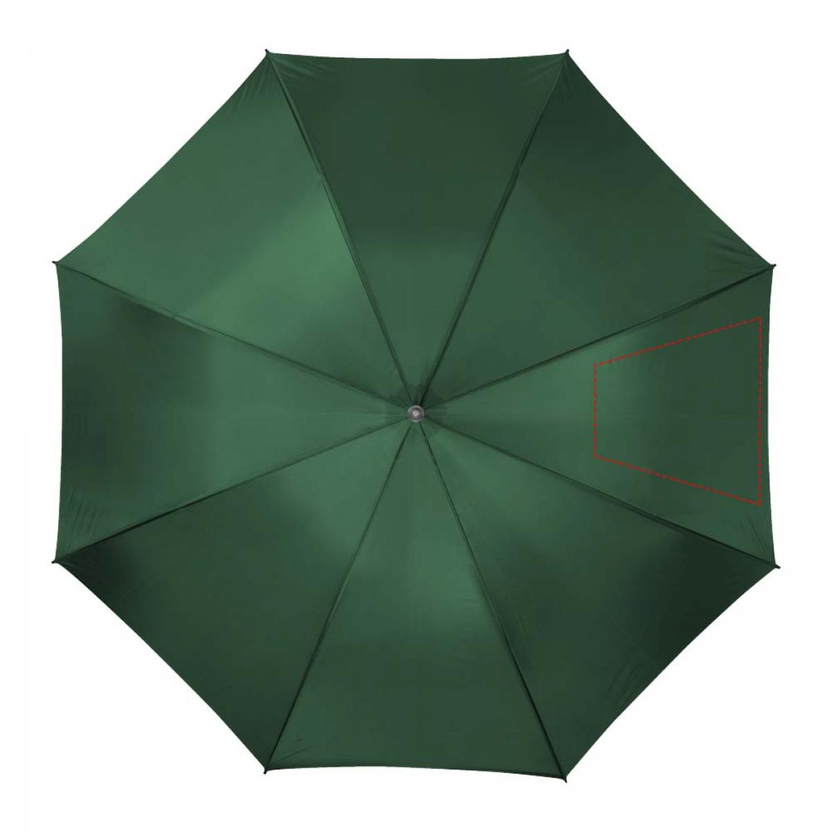 Paraplu met metalen stok - 3de paneel