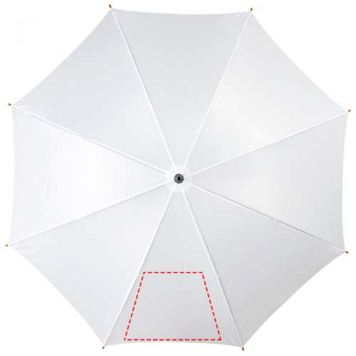 Automatische klassieke houten paraplu