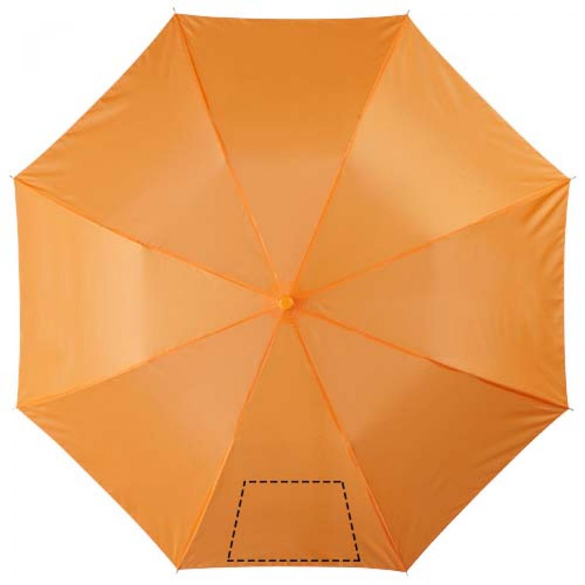 Paraplu bestaande uit 2 delen