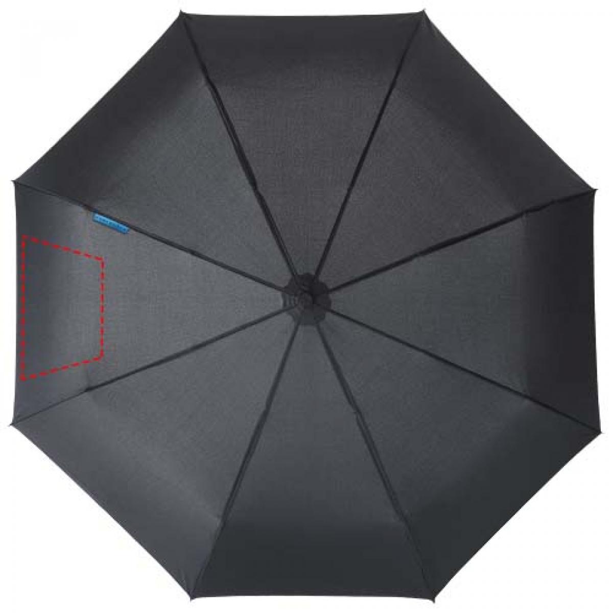 Marksman 3-delige opvouwbare paraplu