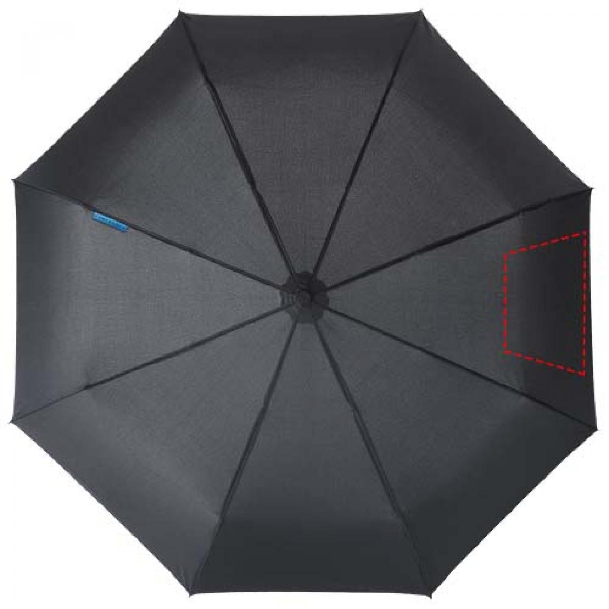 Marksman 3-delige opvouwbare paraplu - 5de paneel