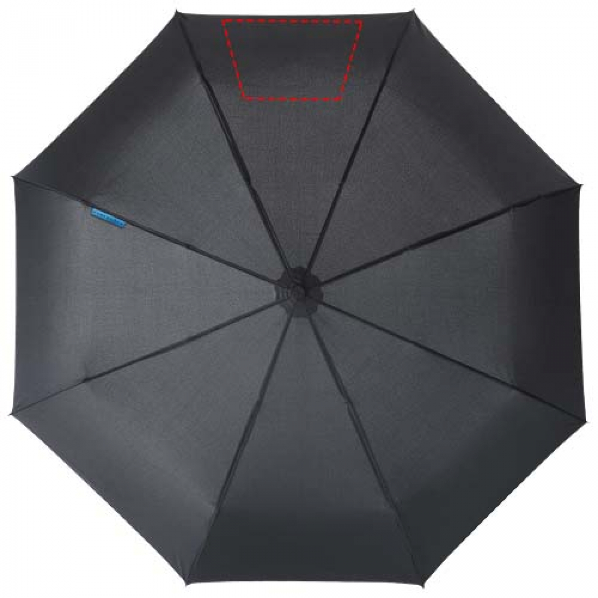 Marksman 3-delige opvouwbare paraplu - 7de paneel