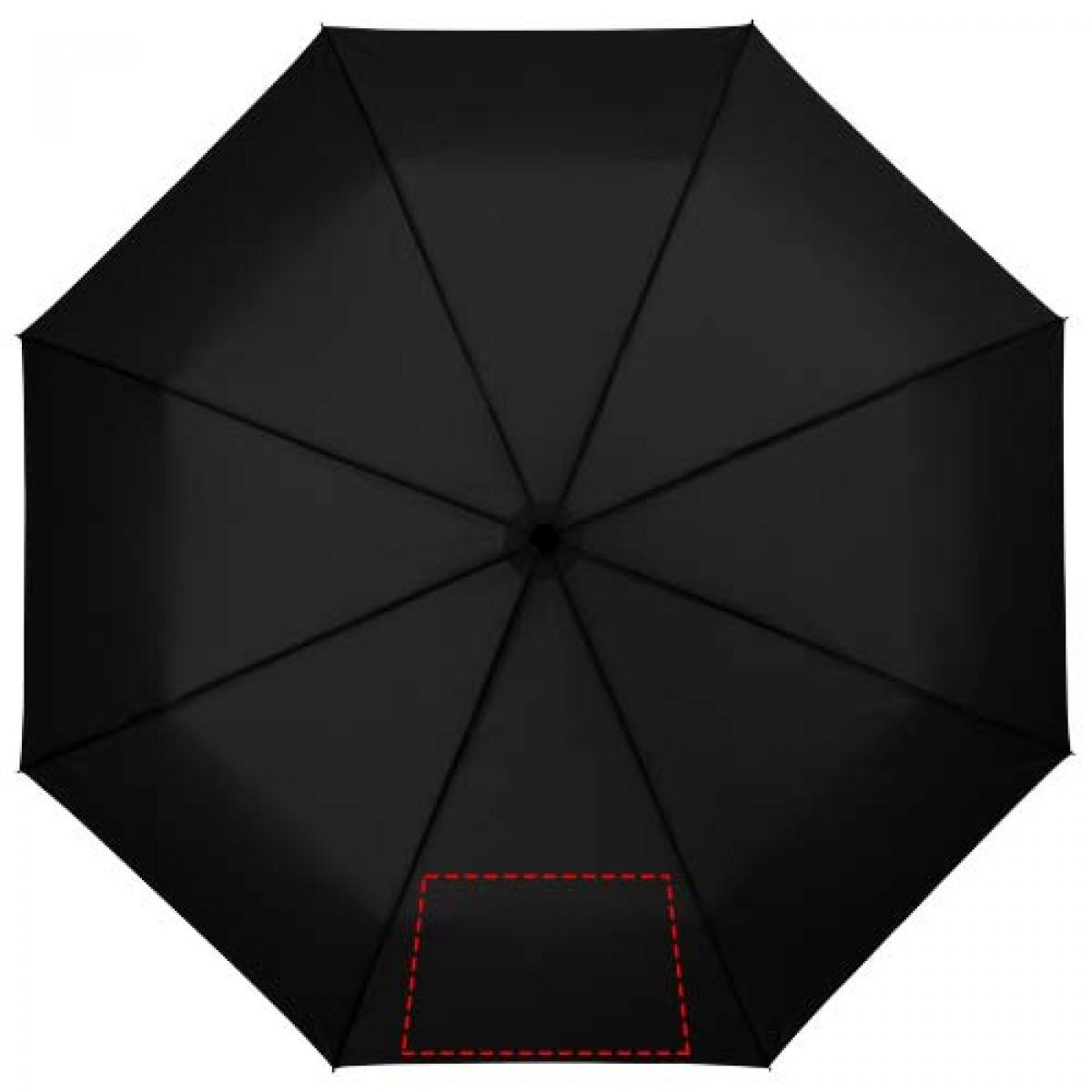 3-delige automatische paraplu