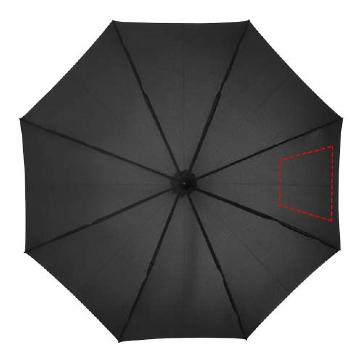 Noon automatische stormparaplu - 3de paneel