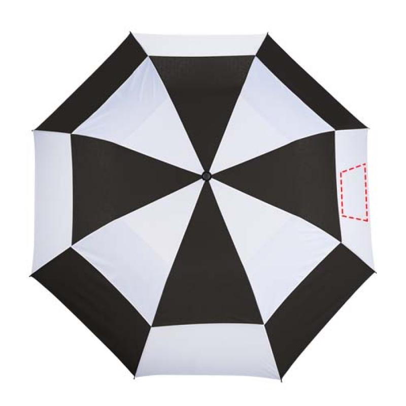 Norwich 30'' 2 sectie automatische paraplu - 3de paneel