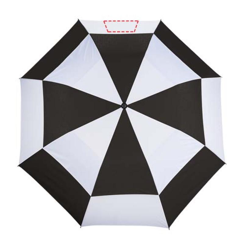 Norwich 30'' 2 sectie automatische paraplu - 5de paneel