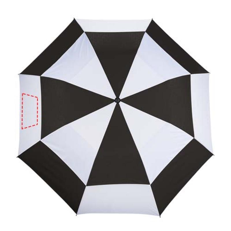 Norwich 30'' 2 sectie automatische paraplu - 7de paneel