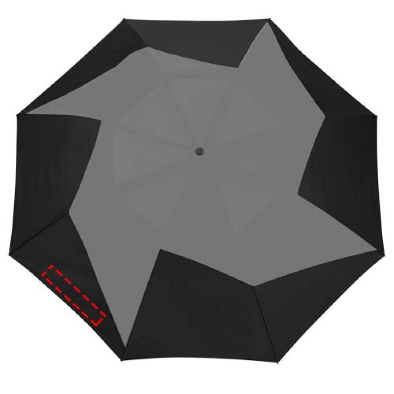 Pinwheel 23'' 2 sectie automatische paraplu - 1ste paneel