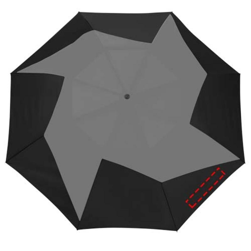 Pinwheel 23'' 2 sectie automatische paraplu - 3de paneel