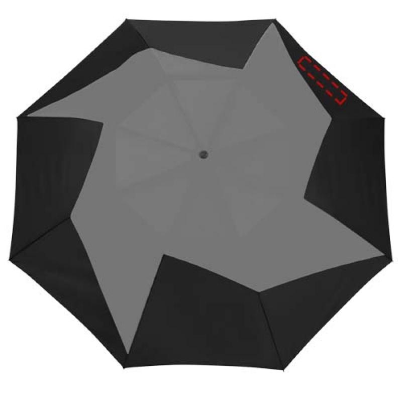 Pinwheel 23'' 2 sectie automatische paraplu - 5de paneel