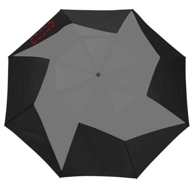Pinwheel 23'' 2 sectie automatische paraplu - 7de paneel