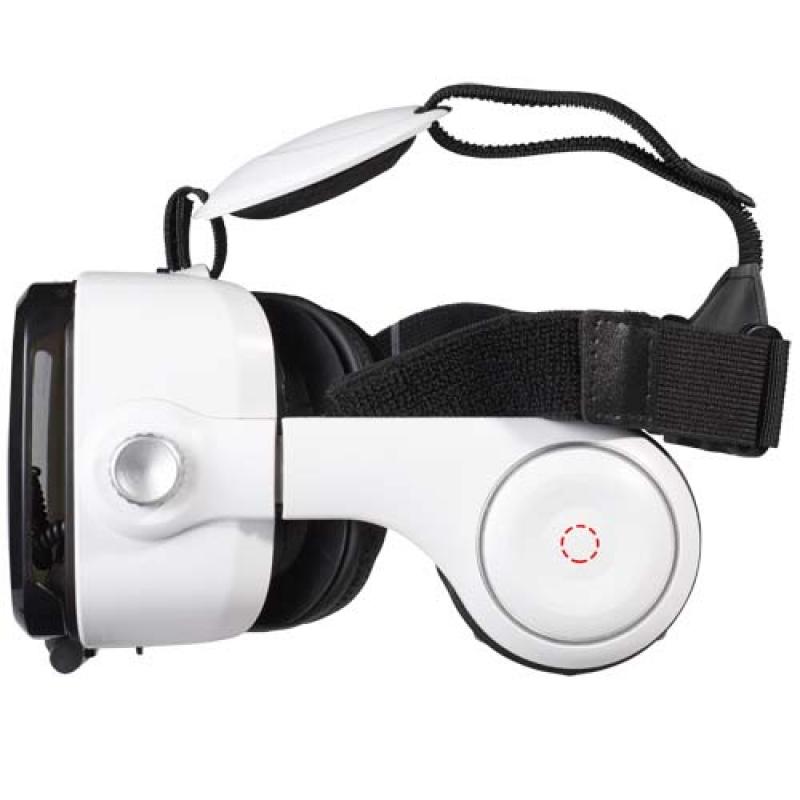 VR set met hoofdtelefoon - linker oorschelp