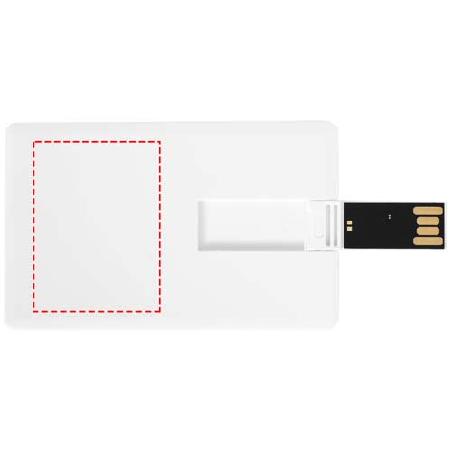Slim credit card USB