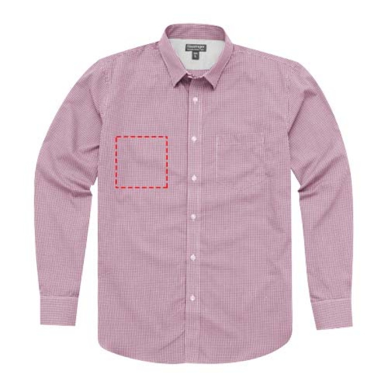 8fb6d1a22c6bb3 Nette heren blouse met lange mouwen bedrukken? - Voordelig & snel ...
