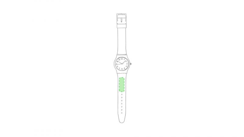 Horloge Suva - Op het bandje boven de klok