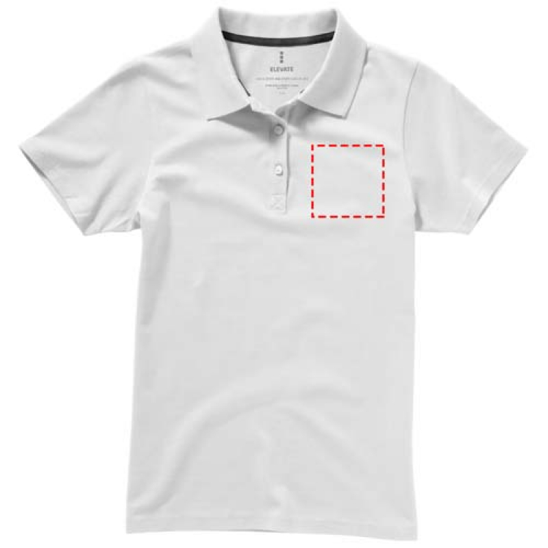Basic katoenen dames polo