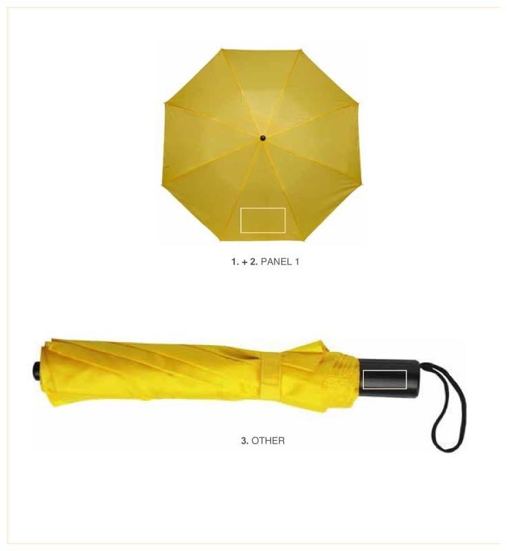 Paraplu in hoes en polskoord - Paneel 1