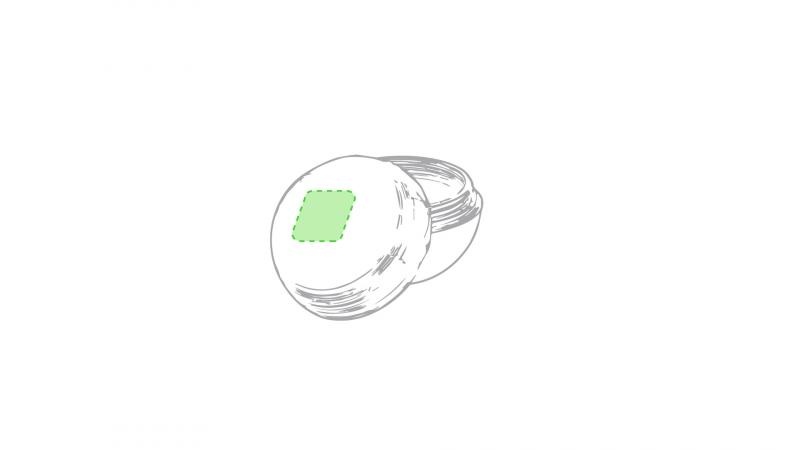 Lippenbalsem Bolic - Op de ronde deksel