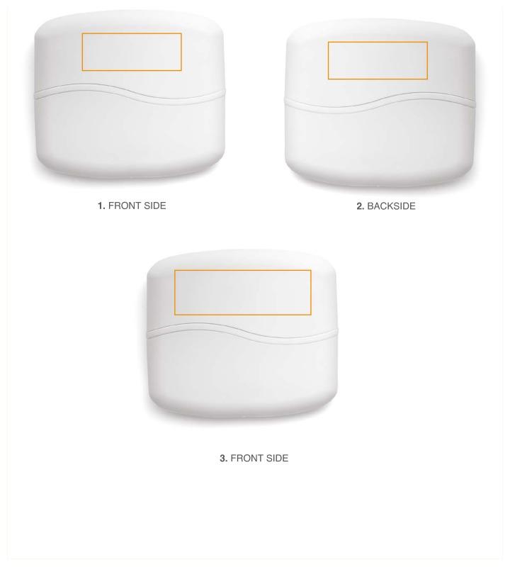 Beelschermwisser en borstel - Voorzijde